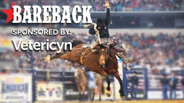 Bareback sponsored by Vetericyn