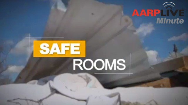 Learn about establishing a safe room for shelter from severe storms.