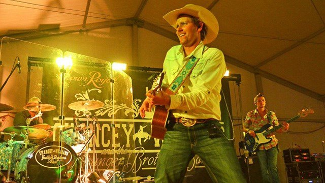 Rodeo cowboy turned country singer Chancey Williams