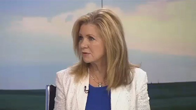 """Tennessee Representative Marsha Blackburn joins us live on the set of """"Market Day Report"""" to discuss rural broadband."""