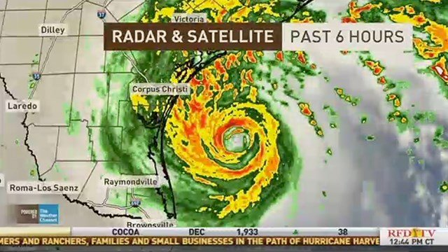 Here comes Harvey