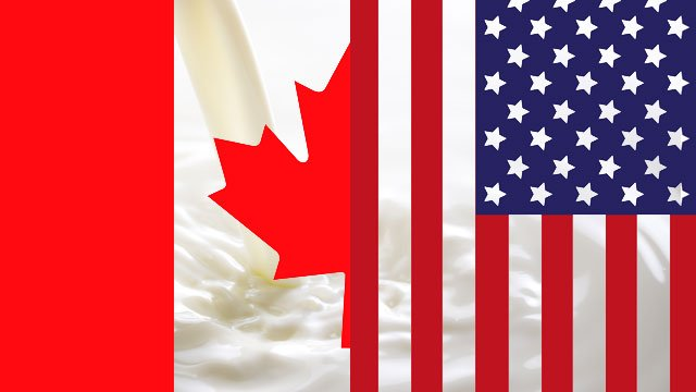 Canadian and U.S. trade negotiations and the dairy industry