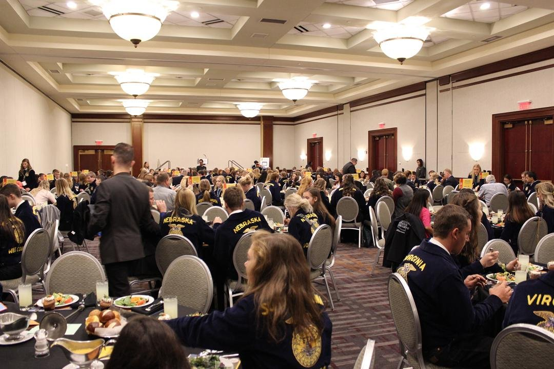 FFA Members who participated in the Milk Quality Contest were recognized at a luncheon