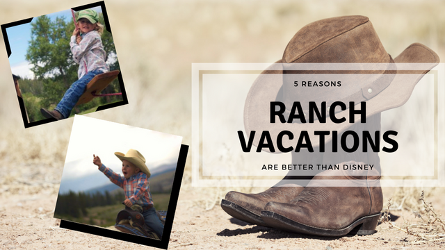 Vacation at Dude Ranches