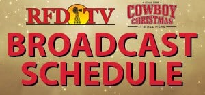 Cowboy Christmas: Broadcast Schedule