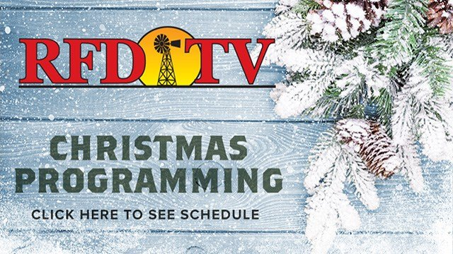 Christmas Programming on RFD-TV
