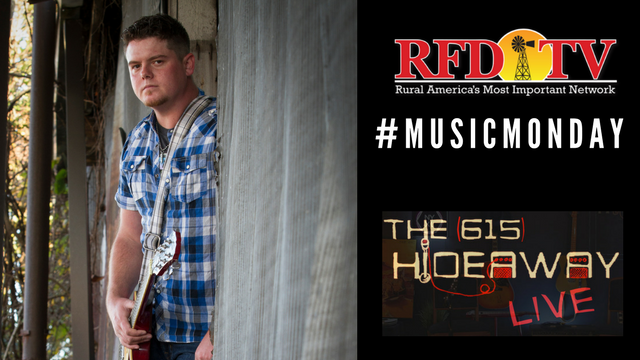 Dustin Collins joins RFD-TV's Music Monday