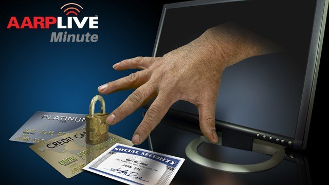 AARP Live Minute – Preventing Identity Theft