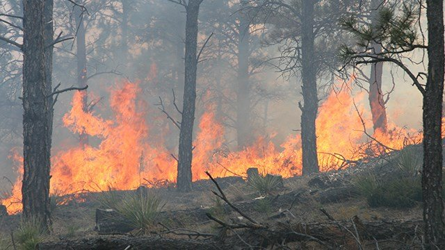 Wildfires continue to burn in Oklahoma and Colorado.