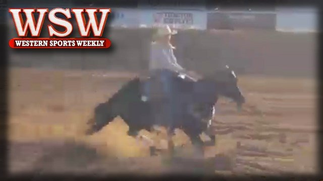 Nicole Laurence wins barrel racing at 2018 Mineral Wells Rodeo.
