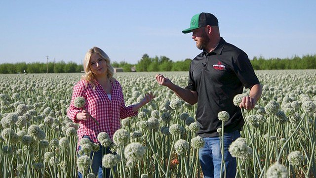 A Day with Jay Hill: Madison spends the day with Jay Hill at his Las Cruses, NM farm.