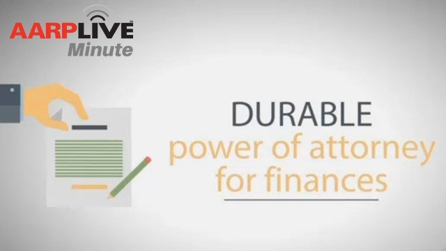 AARP Live Minute: Durable Power of Attorney