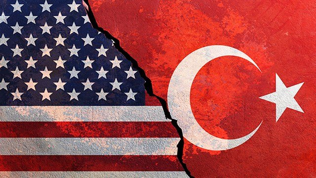 U.S. and Turkish flags