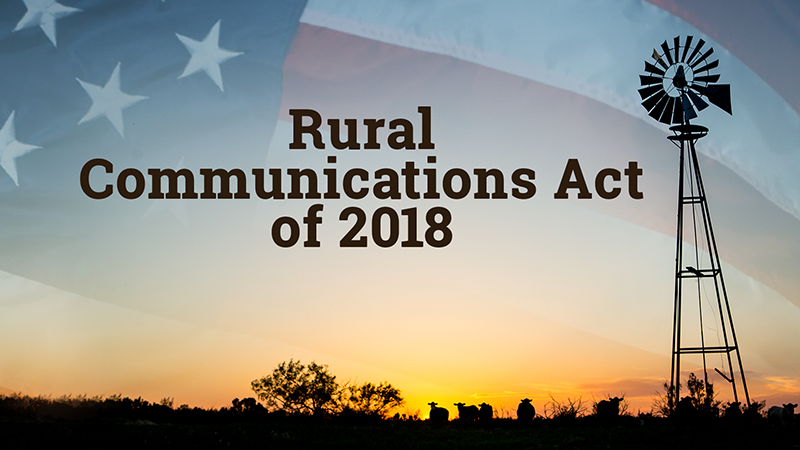 Rural Communications Act 2018