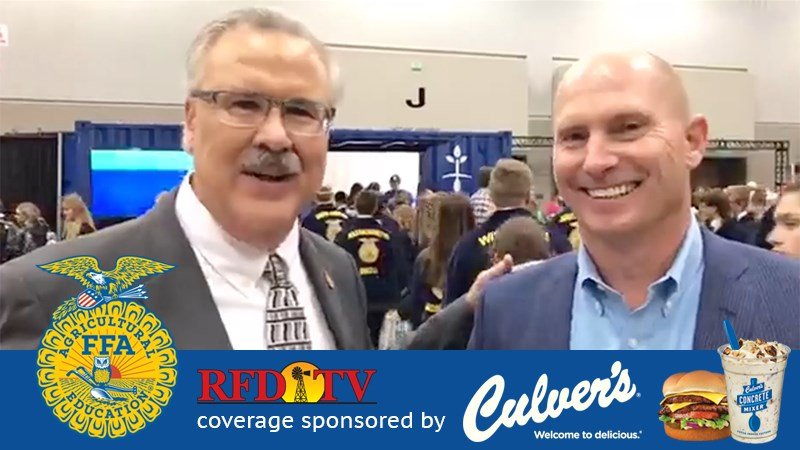 Mark Oppold with Joe Koss, President and CEO of Culver's