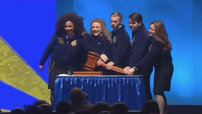 FFA 2018 Day One - Opening Gavel