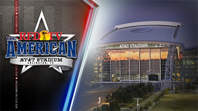 RFD-TV'S THE AMERICAN - AT&T Stadium