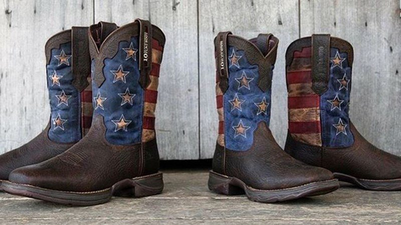 Durango Flag Boot Special 10th Anniversary Edition