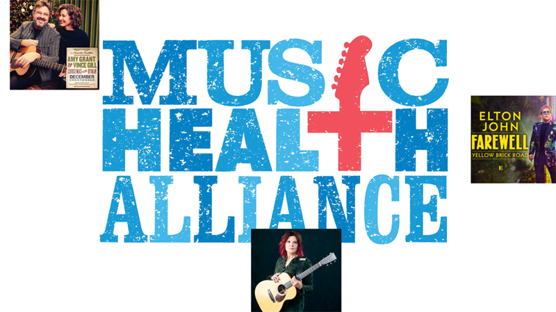 Music Health Alliance (MHA) is excited to announce exclusive experience auctions with Elton John, Rosanne Cash, and Amy Grant and Vince Gill!