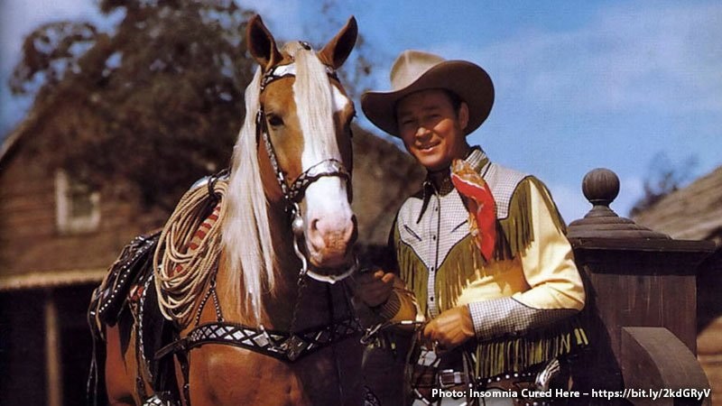 Roy Rogers and Trigger, 1940