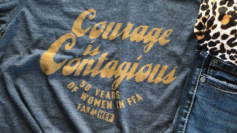 Courage is Contagious - FamHer Celebrates 50 Years of Women in the National FFA Organization