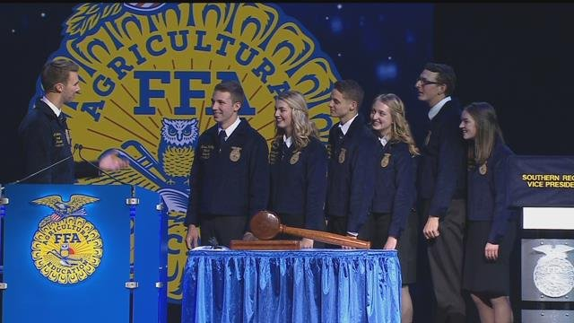 Installation of the 2019-2020 National FFA Officer Team