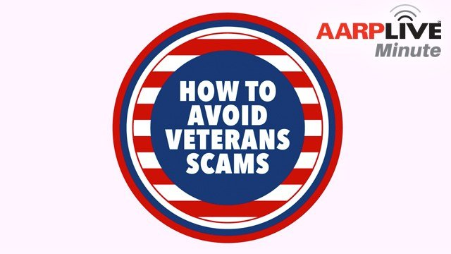 AARP Live Minute - Veterans Charity Scams