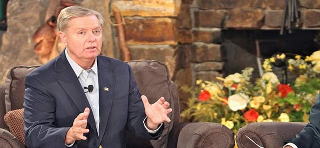 Sen. Lindsey Graham on RFD-TV's RURAL TOWN HALL.