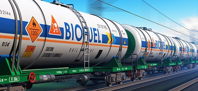 BioFuel on Train