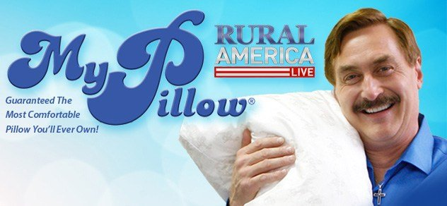 Rural America Live with My Pillow