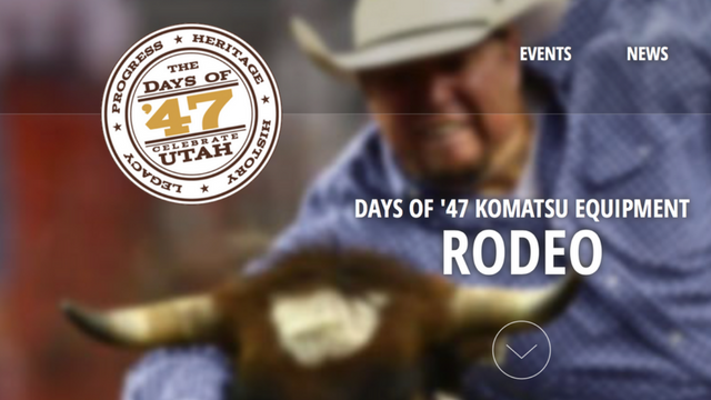 Days Of 47 Rodeo Coverage