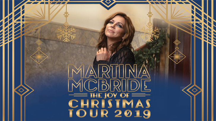 Martina Mcbride Christmas Tour 2019 9th Season Announced for Martina McBride's Popular Christmas Tou