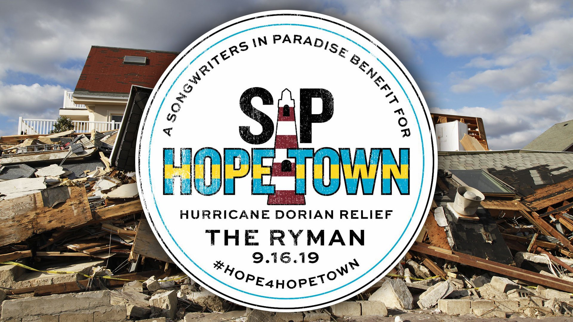 Country Music Stars to Play Hurricane Dorian Relief Concert