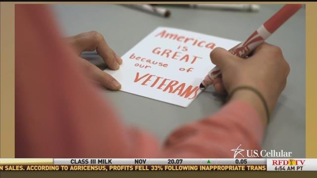 Veterans are smiling thanks to a Georgia teen